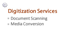 digitization services